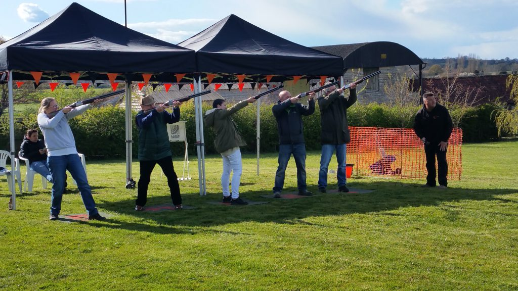Clayzer laser clay shooting Somerset