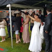 Clayzer laser clay shooting - Weddings